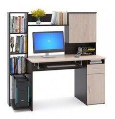 Письменный стол Сокол-Мебель КСТ-11.1 венге/беленый дуб1