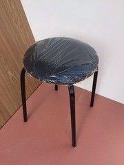 Кухонный стул Алвест Эконом черный/черный