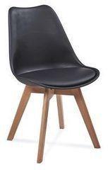 Кухонный стул Atreve Fiord (черный/бук)