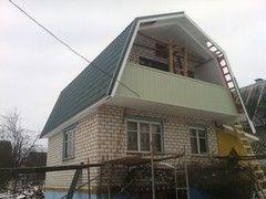 Строительство домов Дом с мансардой ИП Пригожий В.В. Проект дома 5