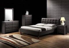 Кровать Кровать Halmar Samara (черная)