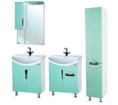Зеленая мебель для ванной Bellezza Лагуна 65 см