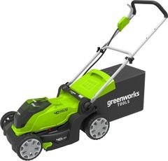 Газонокосилка Газонокосилка Greenworks G40LM41