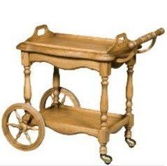 Сервировочный столик Сервировочный столик Гомельдрев Версаль ГМ 5609 (слоновая кость/патинирование)