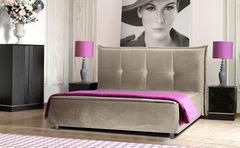 Кровать Кровать ZMF Диана (сп. место 140х200 см., капучино)