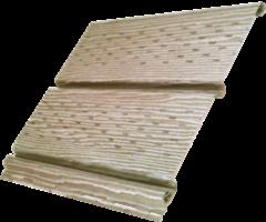 Софит Ю-пласт Timberblock Дуб натуральный с полной перфорацией