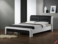 Кровать Кровать Halmar Cassandra 120 (бело-черный)