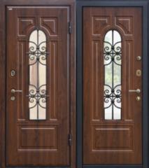 Входная дверь Входная дверь МеталЮр М30 (темный орех)