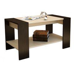 Журнальный столик Горизонт Квадро (Венге/Дуб)