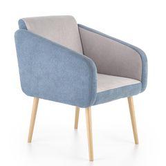 Кресло Кресло Halmar Well (бирюзовый/светло-серый)