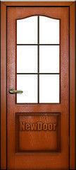 Межкомнатная дверь Межкомнатная дверь Newdoor МДФ тонированная 4