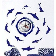 Декоративная светотехника Feron Часы-наклейка NL20