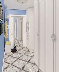 Дизайн квартир и коттеджей ИП Сайдакова Ю.А. Квартира однокомнатная реализ и проект