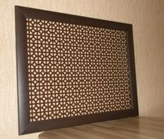 Экран для радиаторов Бамбуковый рай Рамка (МДФ)-16