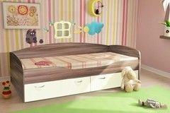 Детская кровать Детская кровать Квартет Бриз Ясень 190x80