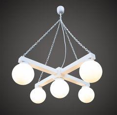 Светильник Светильник Stdlight современная белая подвесная с плафонами арт. 115 В