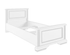 Кровать Кровать BRW Вайт LOZ90x200 (ясень снежный/сосна серебряная)