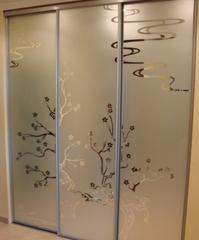 Стекло Стекло Valtera зеркало с художественной пескоструйной обработкой