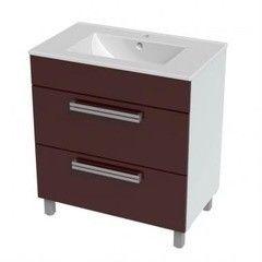 Мебель для ванной комнаты Triton Тумба напольная Ника-60 вишня