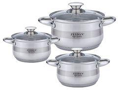 Наборы посуды Zeidan Z-50632 6 пр.