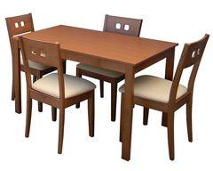 Обеденный стол Обеденный стол Red&Black TVE-6787 (Пола Бич)
