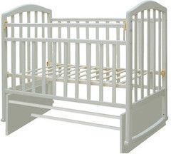 Детская кровать Кроватка Антел Алита 3 белый