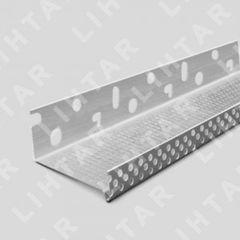Профиль Профиль Lihtar Профиль цокольный 53х2500мм с капельником