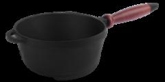 Сковорода Сковорода Ситон Сотейник с деревянной ручкой (d=200 мм, h=100 мм)