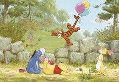 Фотообои Фотообои Komar Winnie Pooh Ballooning 8-460