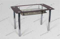 Обеденный стол Обеденный стол Стеклолюкс С 28-03 Орфей