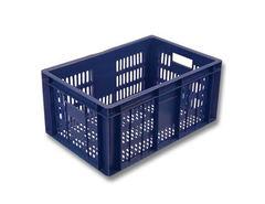БелБиоХаус Ящик овощной 600x400x250 пластиковый с перфорацией, арт. 201