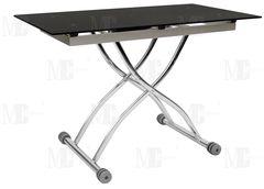 Обеденный стол Обеденный стол Metsteklo 3061 черный