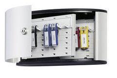 Шкаф металлический Durable KEY BOX на 12 брелоков, 160x302x118мм