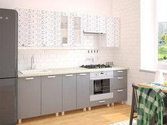 Кухня Кухня Интерлиния Мила АРТ 2.6 м