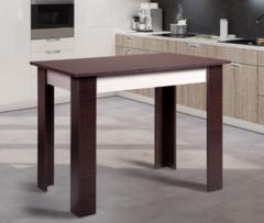 Обеденный стол Обеденный стол Мебель-Класс Леон-1 МК 400.16 (венге/дуб шамони)