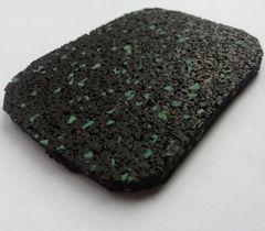 Резиновая плитка Regupol Черно-бирюзовый