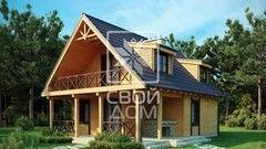 Свой Дом Проект двухэтажного дома 11
