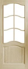 Межкомнатная дверь Межкомнатная дверь Поставский мебельный центр ДО 7 Неокрашенная
