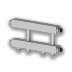 Комплектующие для систем водоснабжения и отопления Север Каскадный узел Север-KUG  (Aisi) арт. 1915033