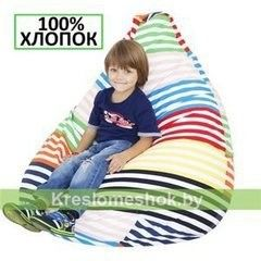 Бескаркасное кресло Бескаркасное кресло Kreslomeshok.by Груша Г2.6-11 Весёлые полоски