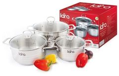 Наборы посуды Lara LR02-81 Standart 6 пр