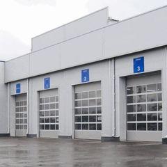 Alutech Автоматические панорамные AluTrend 4000×4000 мм
