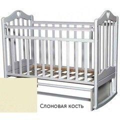 Детская кровать Кроватка Антел Каролина 3 слоновая кость