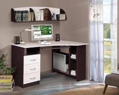 Письменный стол Мебель-Класс Престиж (венге/дуб шамони, правый)