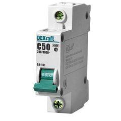 DEKraft Автоматический выключатель ВА101-1P-050A-C (11059DEK)