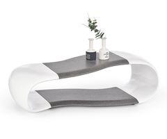 Журнальный столик Halmar Della (белый/графит)