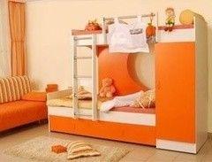 Двухъярусная кровать VMM Krynichka со шкафом (модель 6)