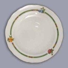 Cesky Porcelan Тарелка мелкая флажная Rokoko Слоновая кость 10004/S1010 (24см)
