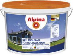 Краска Краска Alpina Die Langlebige fuer Holzfassaden (10 л)