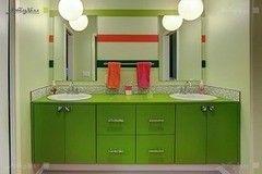 Зеленая мебель для ванной Мебель Холл Арканда